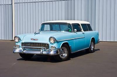 1955 Chevrolet Bel Air Nomad 2-Door Station Wagon