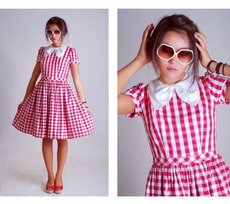 платье в стиле 60 х годов выкройка